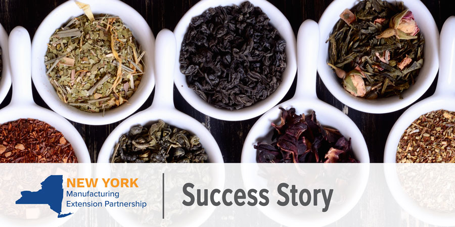 NY MEP Success Story - Caraway Tea